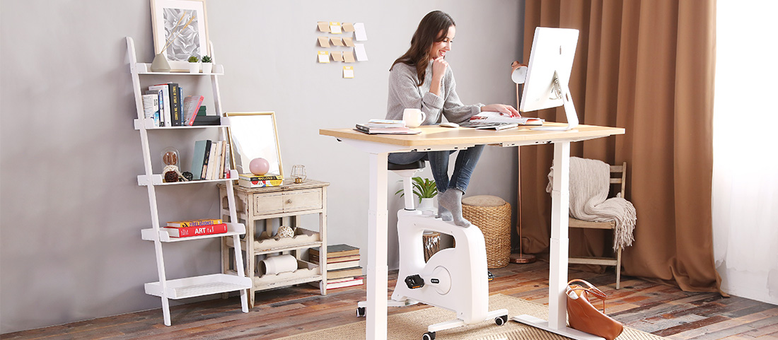 Home Office Desk Bikes