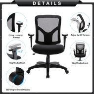 Ergonomic Office Mesh Swivel Rolling Computer Chair 20306