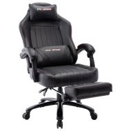Big & Tall Massage Gaming Chair with Footrest 293