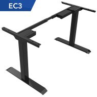 Electric Height Adjustable Standing Desk Frame Only Dual Motor EC3