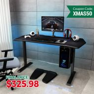 Electric Height Adjustable Gaming Desk - 55