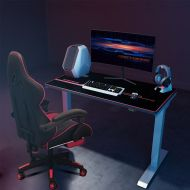 Electric Height Adjustable Gaming Desk with Mouse Pad EC1/EN1