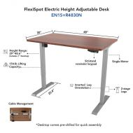 Value Electric Height Adjustable Desk EN1 W/ MonitorStand Workstation