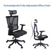 Technologically advanced height adjustable office chair OC9B