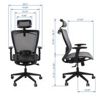 FlexiSpot Ergonomic Office Chair OC3B Dimension