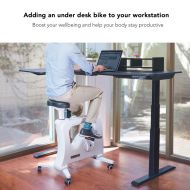 Seiffen Electric Height Adjustable Standing Desk with Rectangular Top