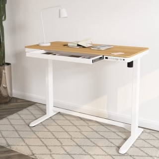 """Comhar All-in-One Standing Desk Wooden Top - 48"""" W"""