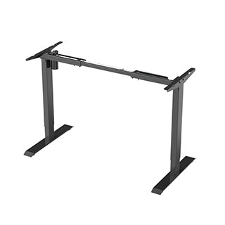 Electric Height Adjustable Desk Frames: 2-stage Economical Option EC1 EN1