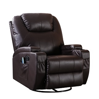 San Diego Power Reclining Full Body Massage Recliner  YC6005