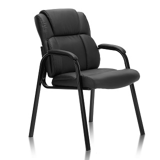 Upholstered Ergonomic Guest Chair LOPEZ