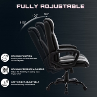 High Back Office Chair 2191E