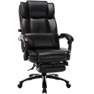 Big and Tall Reclining Executive Office Chair with Footrest 290