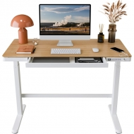 Comhar All-in-One Standing Desk Bamboo Top - 48