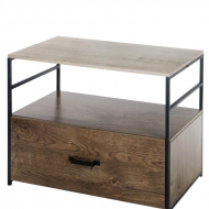 Wood Lateral File Cabinet 001