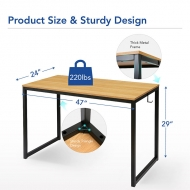 Fixed Height Table FD1 Maple
