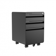Mobile File Cabinet  CB2