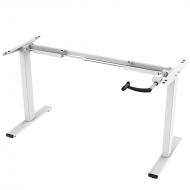 Manual Height Adjustable Desk Frame H1