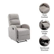 Two Point Massage Recliner SF9075
