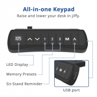 All-in-one keypad