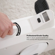 Professional-Grade Qualit Able to adiust resistance levels and track activity with key performance metrics