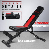 Adjustable/Foldable Workout Bench 650lbs 204
