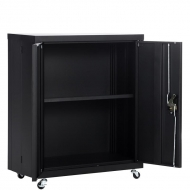 Metal Cabinet with Wheels  001