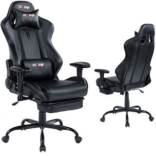 Gaming Chair with Footrest 8522
