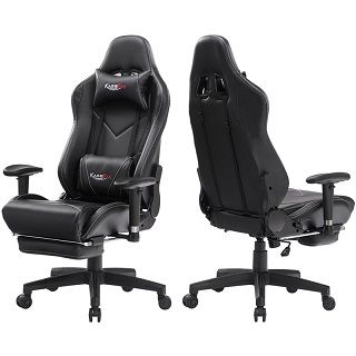Gaming Chair with Footrest 8508