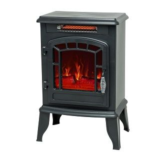 Portable Electric Fireplace S15ABLK