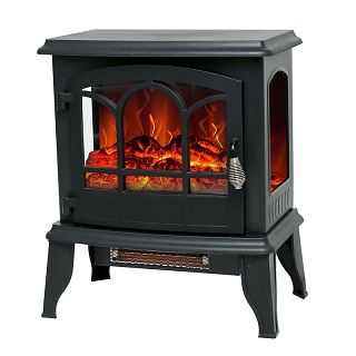 Portable Electric Fireplace STJ17D