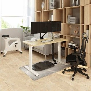 Favorite Combo: Standing Desk + Under Desk Bike + Office Chair