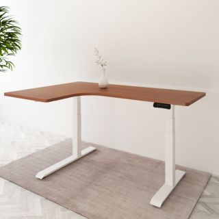 L-Shaped Electric Height Adjustable Desks