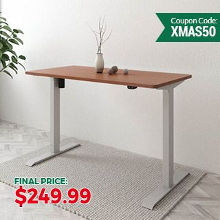 "Value Electric Height Adjustable Desk EC1-42""W"