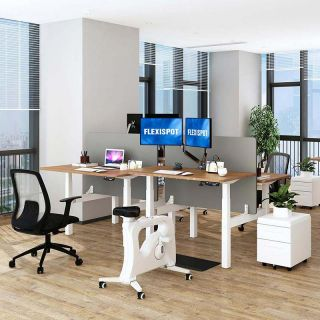 Electric Height Adjustable Desk: Benching Desk H3H