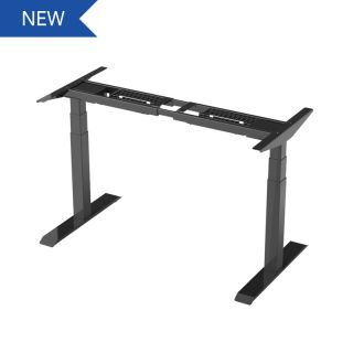 Electric Height Adjustable Desk Frames: 3-Stage Quick Installation Option E6