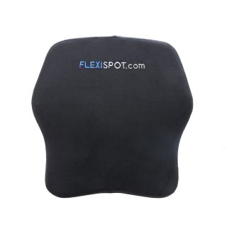FLEXISPOT 100% Pure Memory Foam Comfort Lumbar Support Pillow Back Cushion for Office Chair Car Seat and Wheelchair to Relieve Back Pain