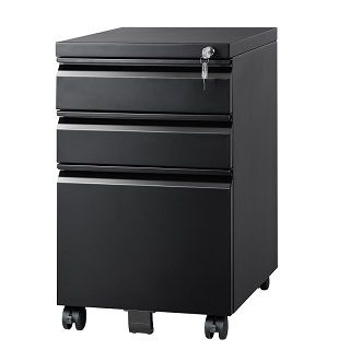 Mobile File Cabinet with Lock 001