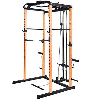 Power Rack Power Cage 1000-Pound Capacity 109&107