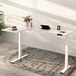 L-Shaped Standing Desk E1L