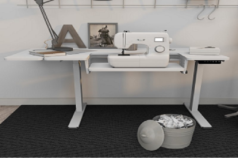 Height Adjustable Sewing Table-Sewing Standing Desk ES9W  makes  a perfect sewin