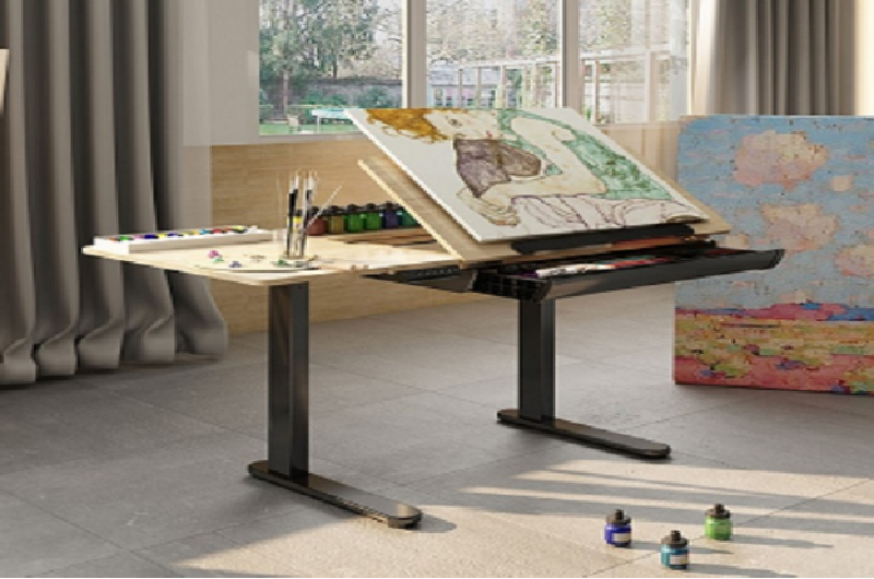 Height Adjustable Drafting Table ED1B for boosting your creative juices