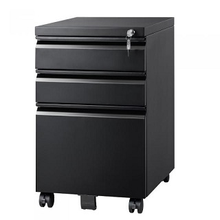 Mobile File Cabinet with Lock 001  for organizing files and  making your desk
