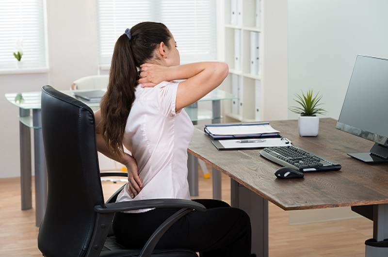 fix bad posture while working from home