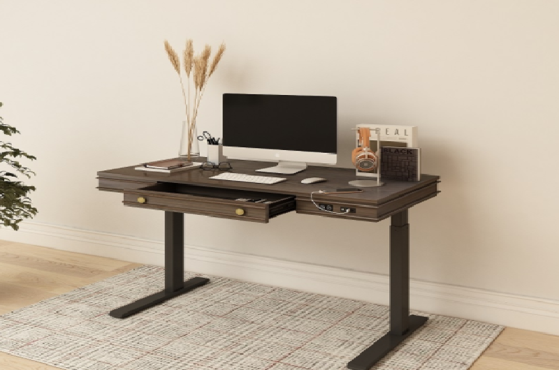 A sleek and classy standing desk
