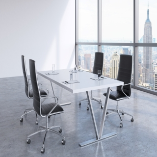 Faux Leather Ergonomic Office Chairs