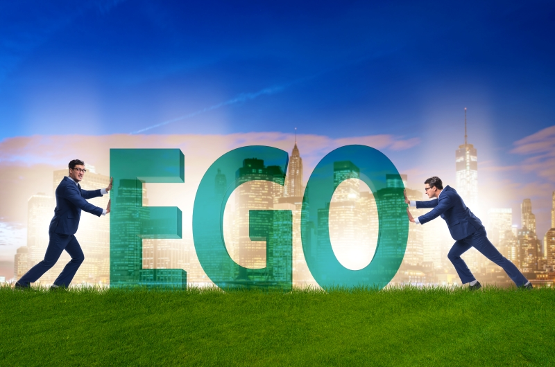 How to stop an inflated ego