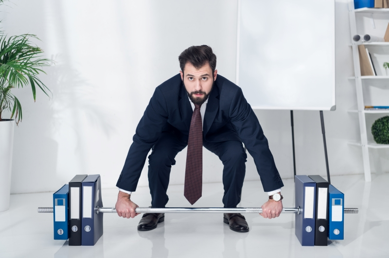 The Corporate Weightlifter