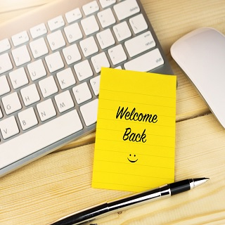 Greeting for Your Office Comeback