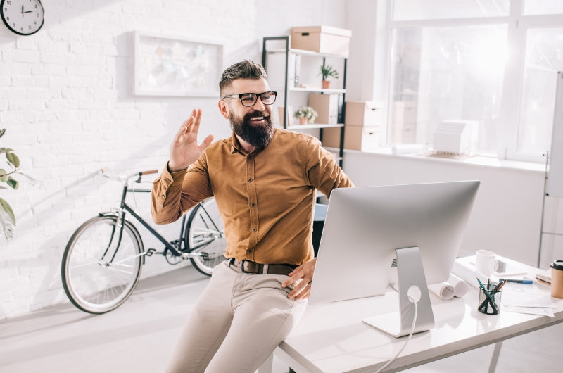 Changing postures while you work is a good way to be productive. You can stand a