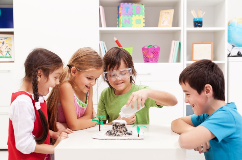 Children with ADHD who are usually hyperactive could be helped  making them busy
